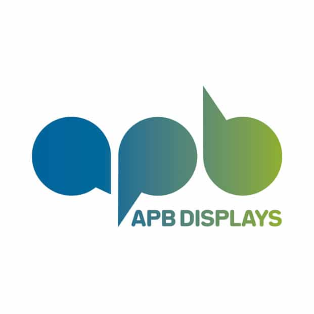 Logo design for APB Displays