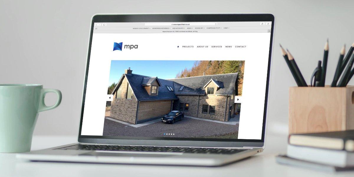 Website design for mparchitecture