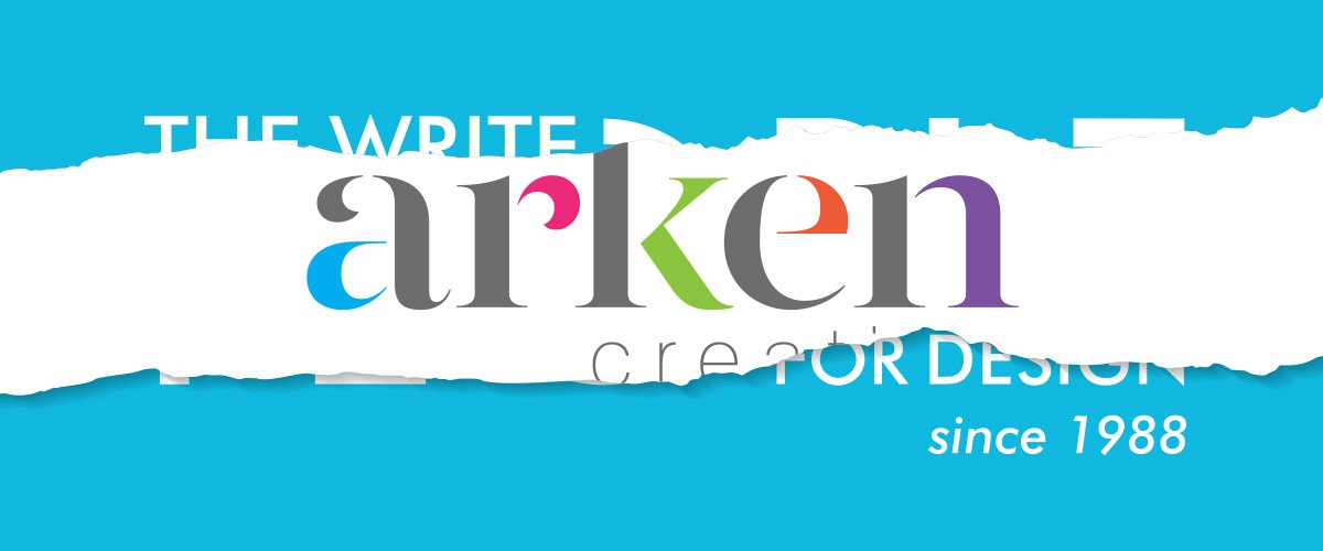 The Write People, a Stirling based design company re-branded as Arken Creative
